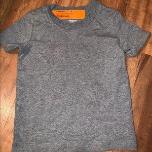 Carters gray t shirt size 24 M